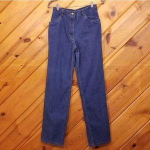 High Rise Jeans Strait Stretch XS BonWorth Blue